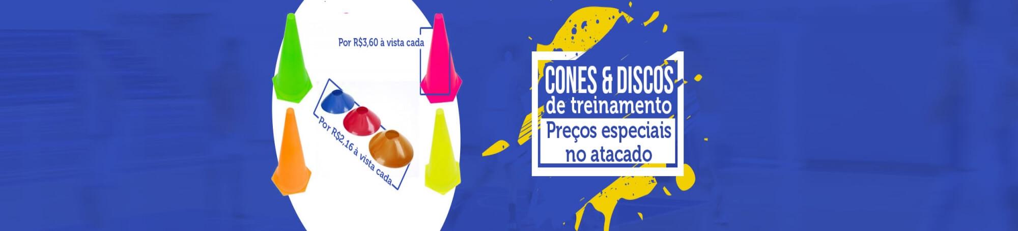 slide 8 - Cones e Discos de Treinamento