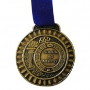 Medalha Gedeval Mini Bronze (Contém 04Unids) 29mm