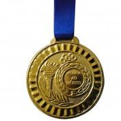 Medalha Gedeval Média Ouro (Contém 04Unids) 44mm