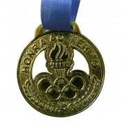 Medalha Rema Pequena Ouro (Contém 05 Unids) 36mm